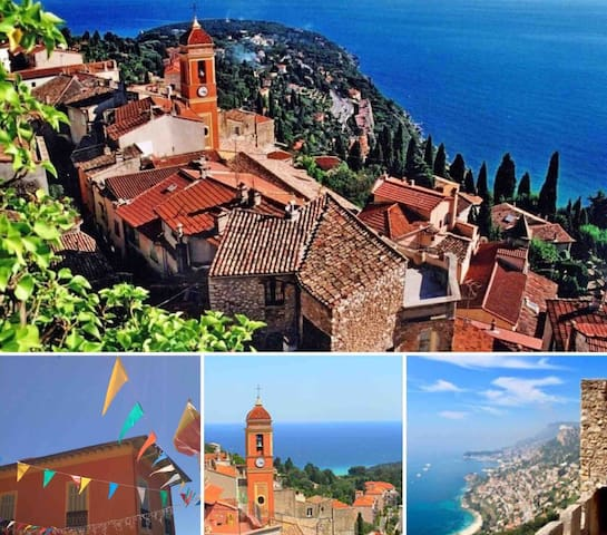 Townhouse in Roquebrune, between Monaco & Menton