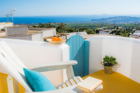 Calliope's House Apartment with view - Pyrgos Kallistis