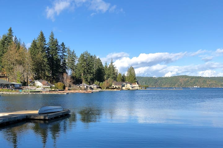 NEW LISTING! Waterfront,  family-friendly home w/ firepit, dock & gas grill!