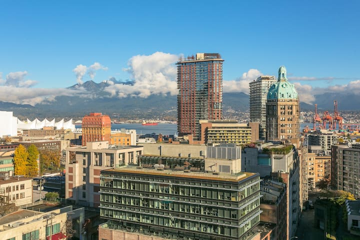 FABULOUS WATER VIEW-Luxury apt-Downtown Vancouver
