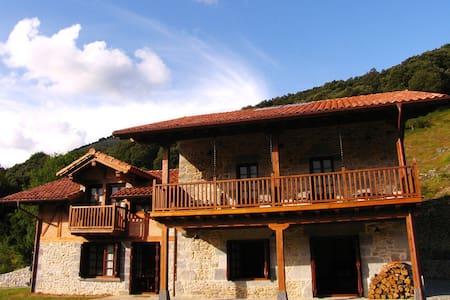 Casa rural en un entorno íntimo y natural - Betelu - Rumah