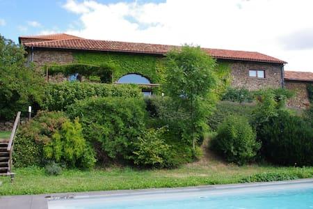 Maison de caractère avec piscine chauffée - Saint-Austremoine - Dom