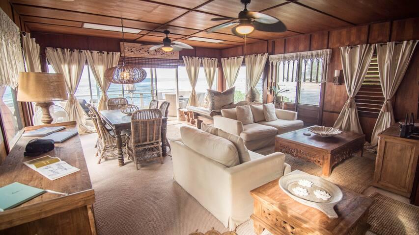Chuns Reef Beach House / 3 Separate Rentals Avail - Haleiwa - Casa