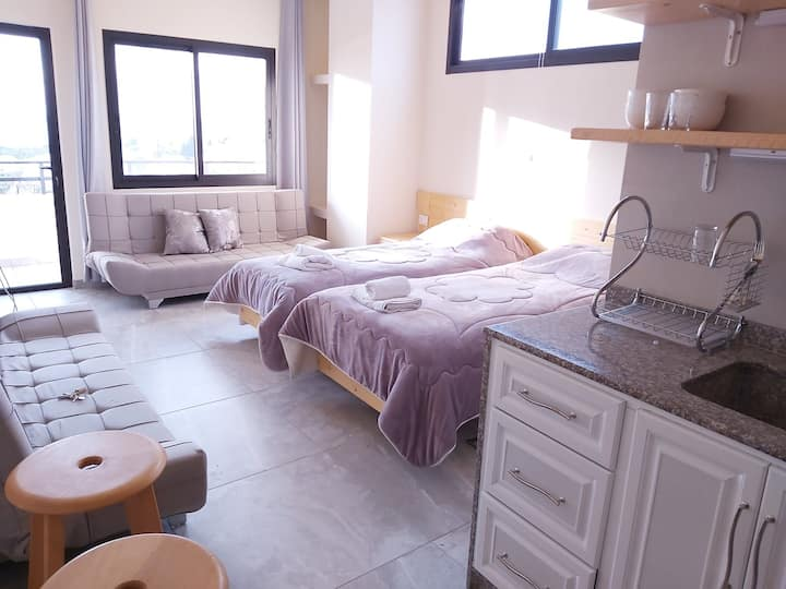 Makazi Gardens- Lilac Apartment and Rooftop