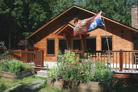 Forest retreat on Olympic Peninsula