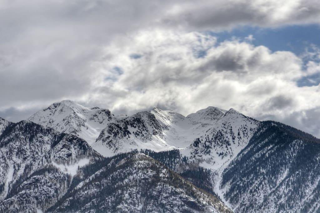 Durango Colorado vacation rental condo at Purgatory Resort ski in ski out