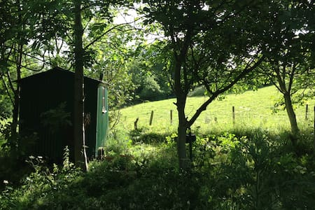 Rustic Shepherds Hut in the Cotswolds - Duntisbourne Leer