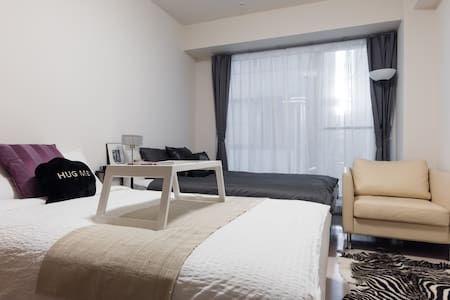 9min Shibuya/Luxury Apt/2 DB/Free PocketWiFi - 渋谷区 - Appartement