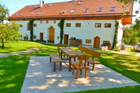 Hagerhof Chiemsee Ferienwohnung Spinnstube
