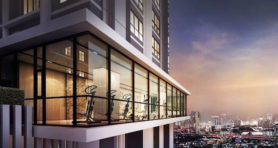 Brand new condo!! Near BTS station - Sathorn Rachapruek - Byt