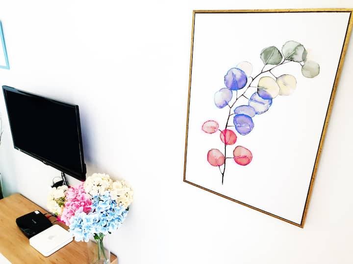 [New][Yuseong-spa stn] Clean&Cozy pravate room