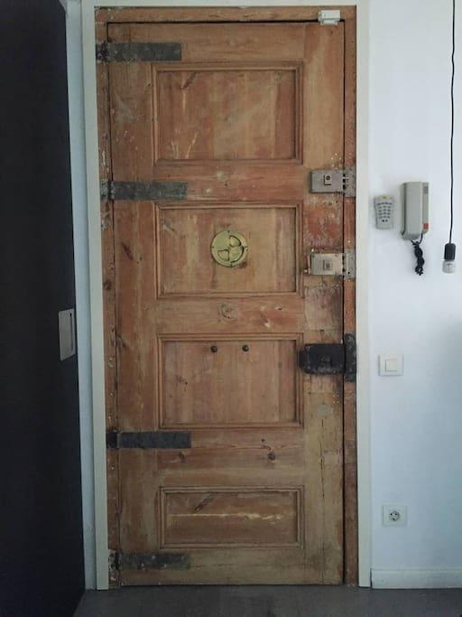 Apartment Door Inside