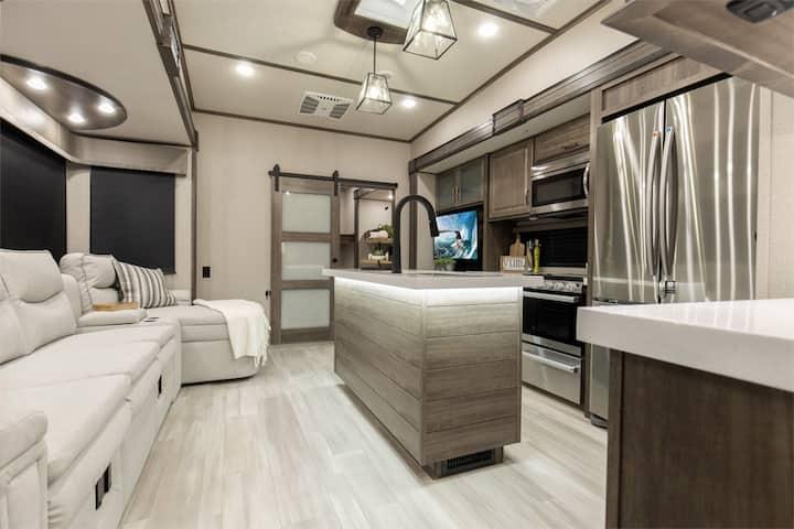 HUGE Luxury RV Home