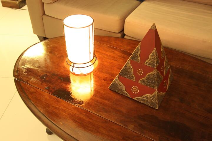 Simple bali style decoration