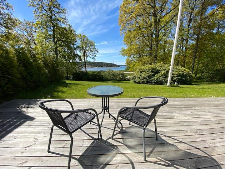 Oceanview villa/apt (35min from Gothenburg)