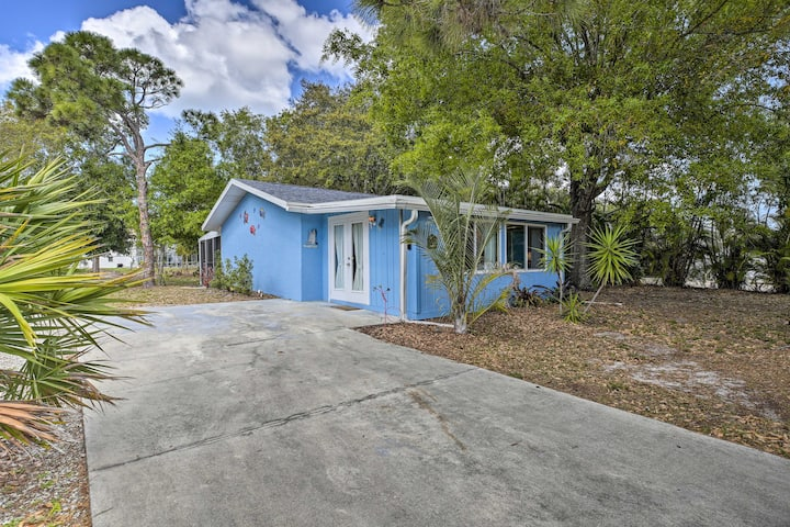 NEW! Bright Bokeelia Home: 7 Miles to Fishing Pier
