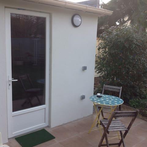 studio indépendant dans un jardin - Saint-Maur-des-Fossés - Apartmen