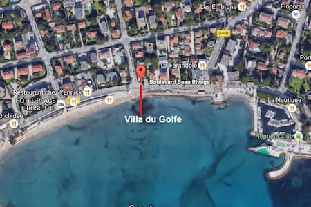Short apartment, fully equipped, at 2 steps beach - La Ciotat - Wohnung