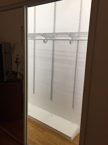 Extra Large Closet With Dimmable Led Lights