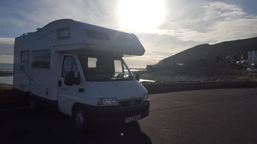 campervan @ NI - Banbridge - Husbil/husvagn