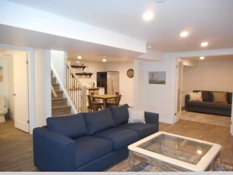 Your own suite with private entrance & parking