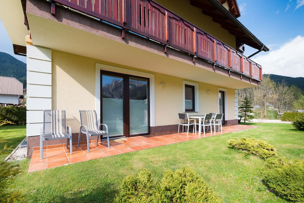 Villa Planina Ground Floor Ap- terrace