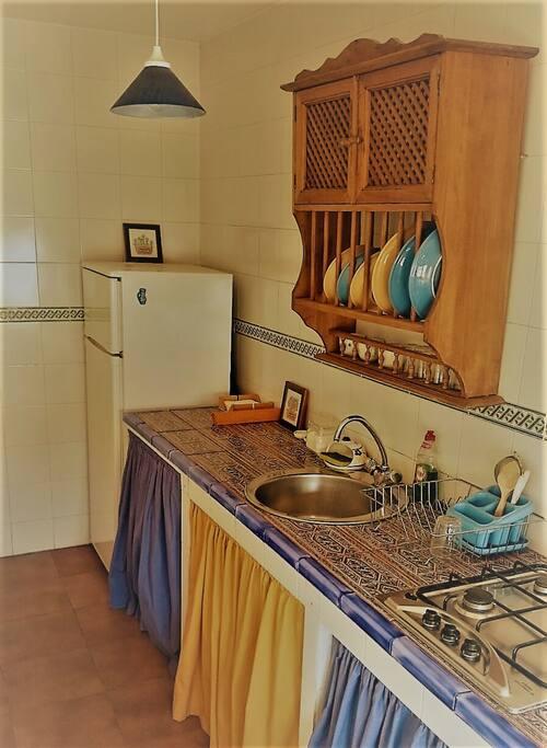 Cocina y frigo