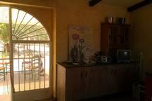 external kitchen