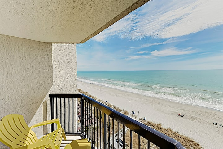 ⭐PETS WELCOME, Direct Oceanfront Compass Cove Newly Remodeled, Amazing view!