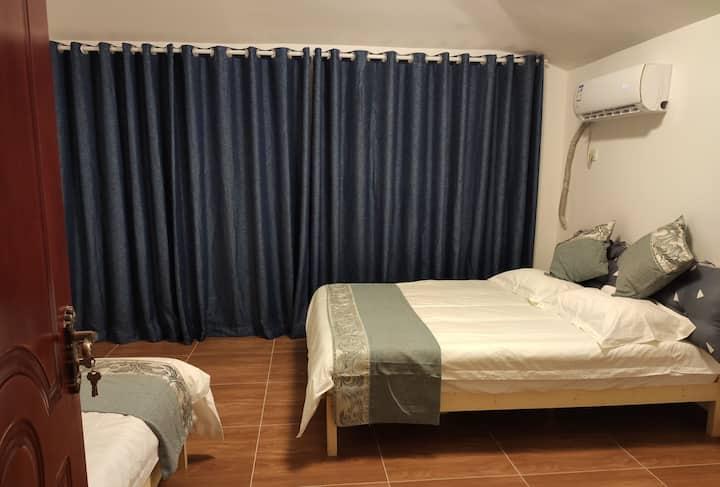 清远恒大别墅双床房,距古龙峡漂流,清泉湾和网红玻璃桥20分钟