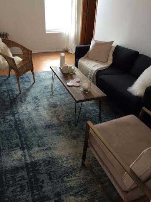 Cozy separate living room