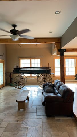 The old Apple storage Barn
