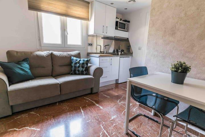Jaén por la Paz. Un espacio super cómodo.