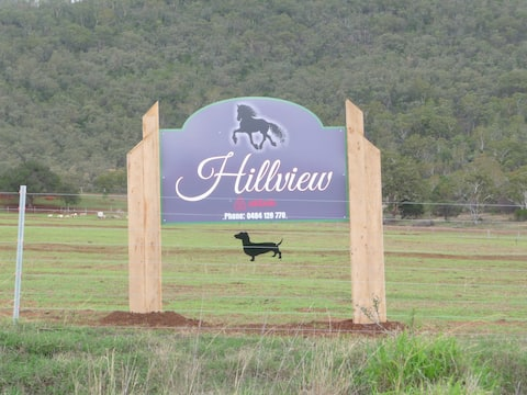 """""""Hillview"""",  a quiet country escape with views."""