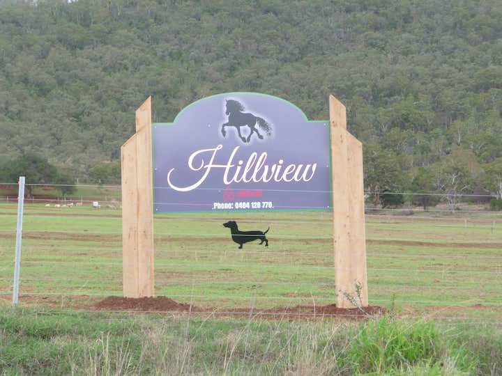 """Hillview"",  a quiet country escape with views."