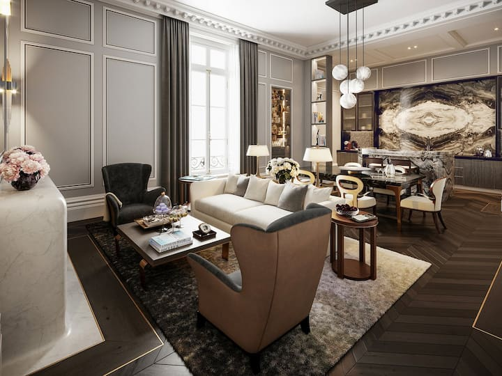 Paris : appartement avenue montaigne