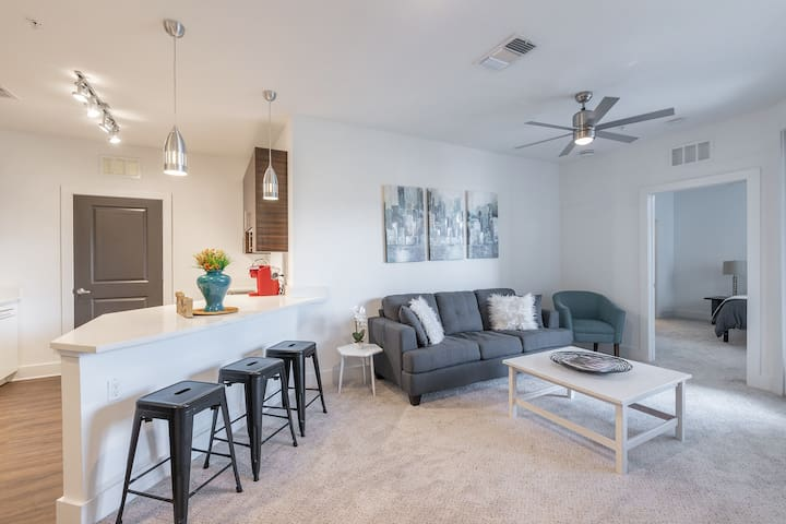 Relaxing + Modern 2BR Apt in Hyde Park w/ Parking