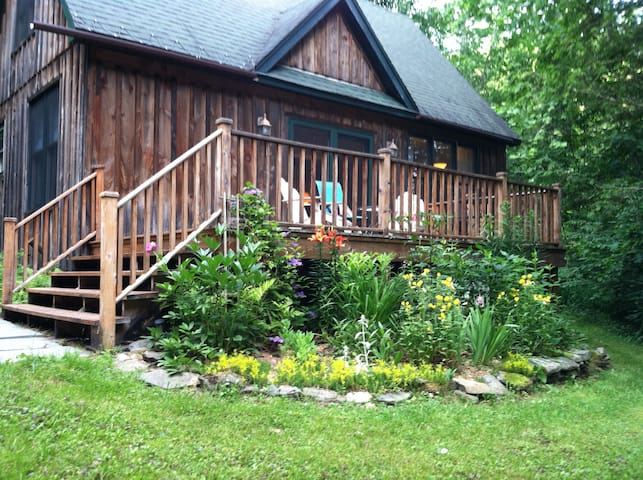 Tree Top Cottage -peaceful private getaway - Long Eddy - Hus