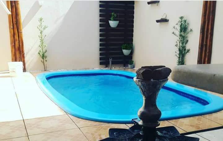 Casa com piscina para temporada Foz do Iguaçu