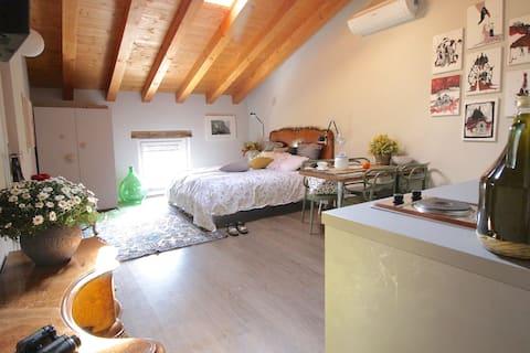 Romantic studio in the vineyards - Tullio