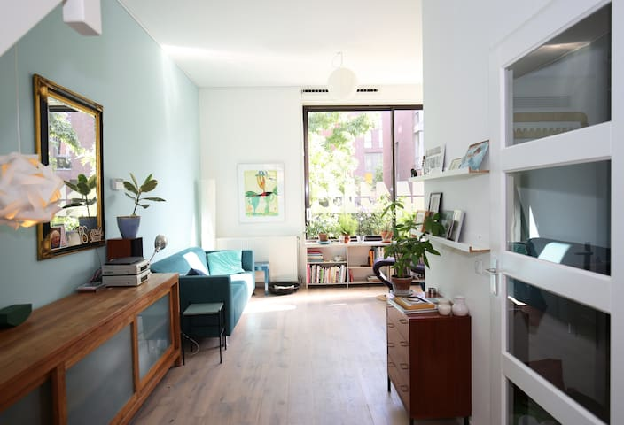 Spacious family house with private garden - Amsterdam - House