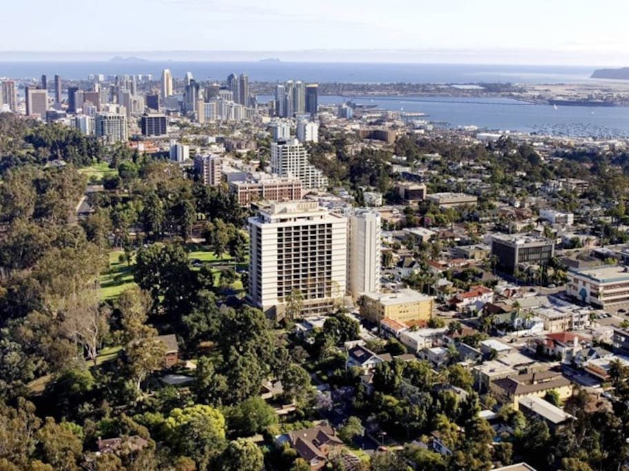 We are minutes from basically any of the major San Diego attractions, Gaslamp, San Diego Zoo, Seaworld, Mission Beach, Coronado Island and Mission Bay.