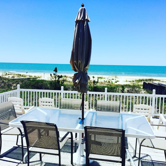 Beach House Pet Friendly Rentals: PRIVATE BEACH FRONT HOUSE On Pet Friendly Beach