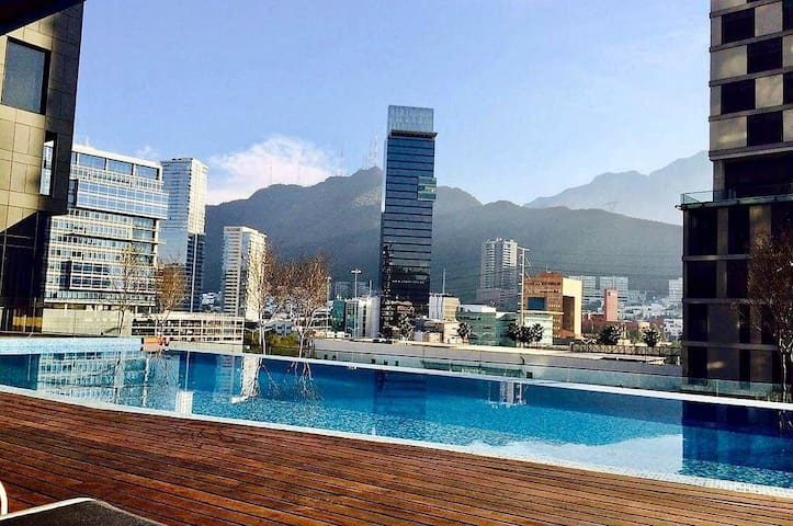 Departamento de lujo en MAGMA Towers Valle Oriente