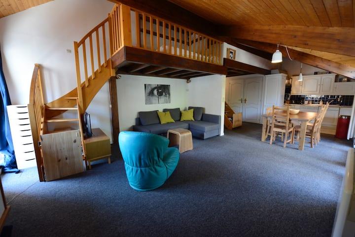 Appartement en plein centre des 2 Alpes - WIFI