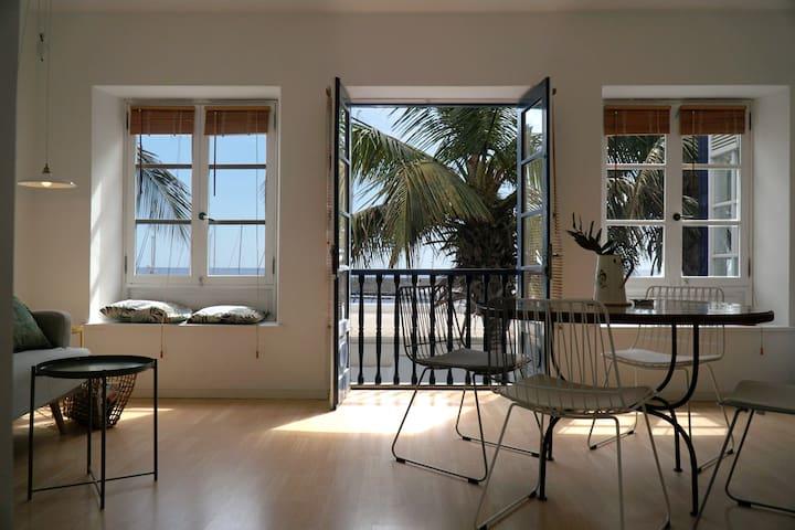 Apartamento frente al mar en Marina Puerto Calero