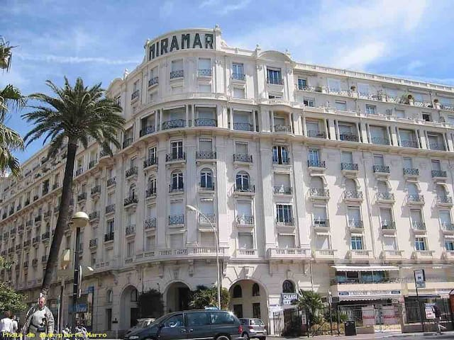 Miramar Palace Croisette ! (Phone number hidden by Airbnb) HT