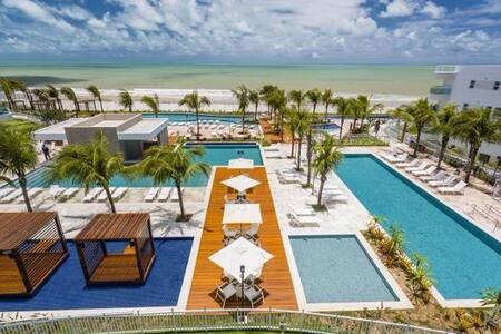 Apartamento Resort In Mare Bali - Lazer e conforto - 帕纳米林 (Parnamirim) - 公寓