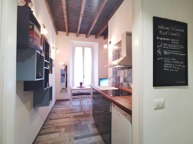 Small charming studio