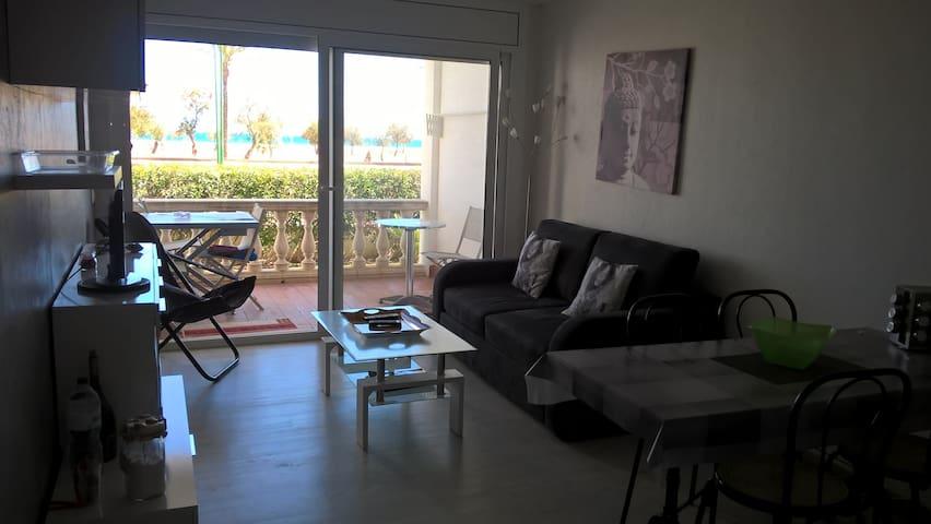 Appartement front de mer, tout confort, dans résid